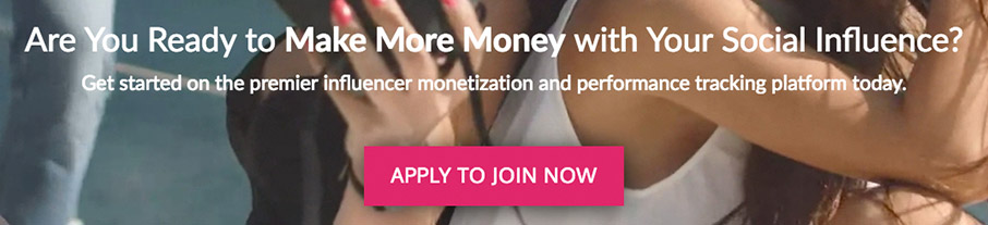 Apply to join Influencer